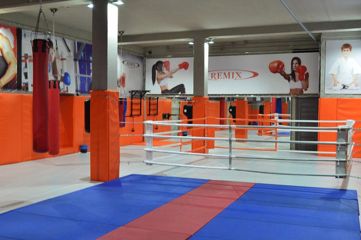 секция каратэ в фитнес-клубе Академ-Ремикс